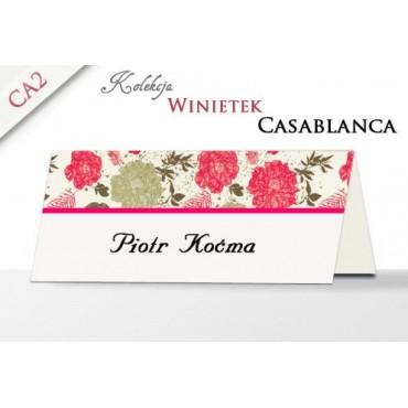 Winietki CASABLANCA CA2